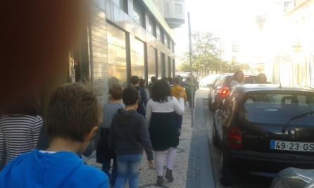 A caminho do Diário de Aveiro